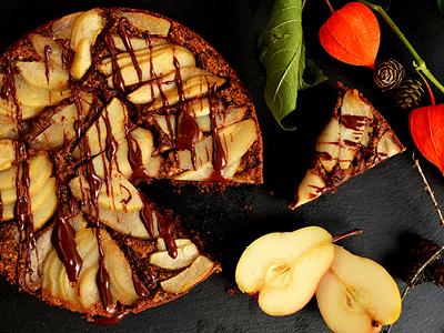 VITALIA Blog Rezepte Teaser Birnen-Nuss-Kuchen