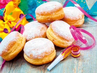 VITALIA Blog Rezept Glutenfreie Faschingskrapfen